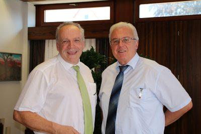 MdL Martin Grath und Gerstettens Bürgermeister Roland Polaschek