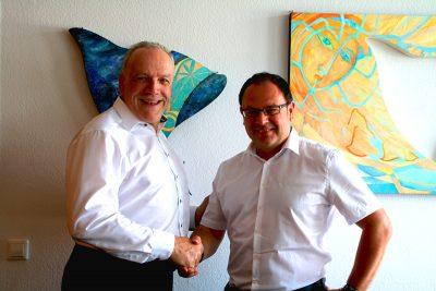 MdL Martin Grath und Bürgermeister Jürgen Mailänder